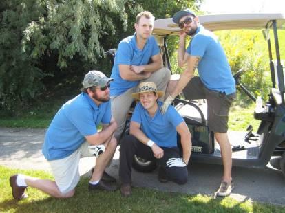 Mike Serba golf tournament 2011-14